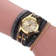 ladies leather strap bracelet images Sloggi brand top luxury women leather bracelet watch lady leather jpg