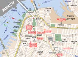 Brooklyn Zip Code Map by Map Of Williamsburg Brooklyn My Blog