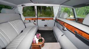 rolls royce limo interior 1962 rolls royce rental atlantic limousine u0026 transportation