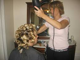 sissy boys under hair dryers martins wife liked to set his hair for him nightly martin loved