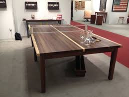 Building Outdoor Wooden Tables by Inexpensive Ping Pong Table Top Black And Wood Stuff Pinterest