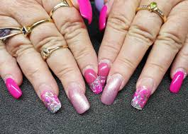acrylic nails glitter tips designs image collections nail art