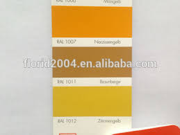 powder coating ral 1007 daffodil yellow ral 1011 brown beige