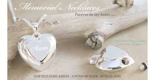 memorial jewelry for ashes memorial necklaces for ashes hair or sand soil