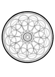 energy mandala coloring pages hellokids com