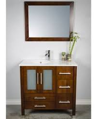 a 4 foot 48 inch bathroom vanity with undermount sink in a