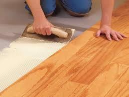 photo of installing engineered hardwood flooring engineered