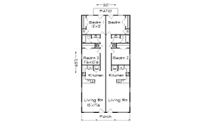 14 narrow lot duplex house plans ideas house plans 21345