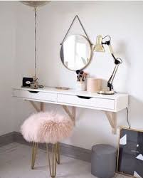 Narrow Desks For Small Spaces Small Space Vanity Deco Project Ideas Pinterest Small Spaces