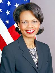 where does trump live condoleezza rice wikipedia