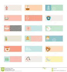free sticker label templates cute vector christmas cards and stickers stock vector image royalty free vector
