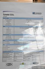 subaru xv malaysia 2017 subaru forester 2 0i l