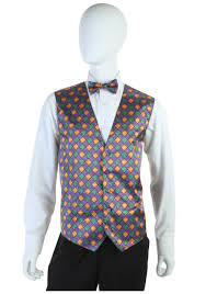 mardi gras suits mardi gras vest and tie set