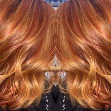 redken strawberry blonde hair color formulas amazing copper balayage i used redken color fusion 6c on her roots