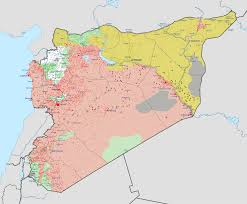 Map Of Syria And Russia Syrian Civil War Wikipedia