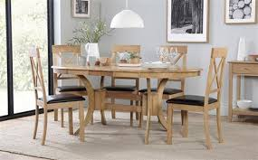 oval shape dining table townhouse oval extending dining table and 6 bali chairs set only