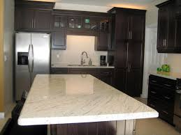granite island kitchen river white granite installed design photos and reviews granix inc