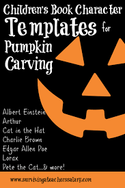 pumpkin carving ideas for preschool children u0027s book costumes u0026 pumpkin carving templates