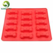 aliexpress com buy kitchen diy 15 dog bone silicone mold cupcake