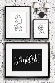 Bathroom Art Ideas For Walls Restroom Decor Bathroom Wall Best Art Ideas On Pinterest For Black