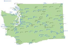 Washington Airport Map by Washington Airport Management Association Home