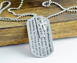 personalized dog tag necklace sted mens necklace personalized dog tag necklace