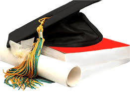 high school cap and gown school cap and gown clipart