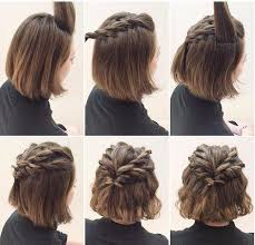 hair tutorial best 25 short hair tutorials ideas on pinterest hairstyles for