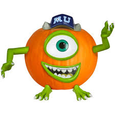 Monsters Inc Pumpkin Push In Kit