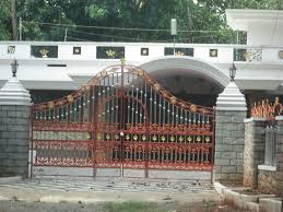 Home Gate Design Catalog Kerala Gate Designs Beautiful House From Home Loversiq