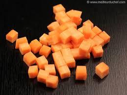 mirepoix cuisine tailler en mirepoix cubes 1 cm de côtés la recette avec photos