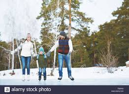 family skating in the park stock photo 93032578 alamy