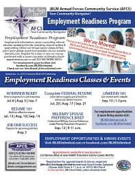 How To Prepare A Resume For A Job by Afcs Employment Readiness Program
