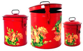 enamel kitchen canisters red canisters for kitchen red kitchen canisters sets red kitchen