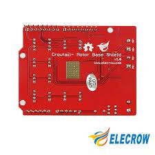 aliexpress com buy elecrow crowtail motor base shield for smart