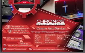 Upholstery Omaha Ne Chronos Specialty Auto Works Open House By Chronos Specialty Auto