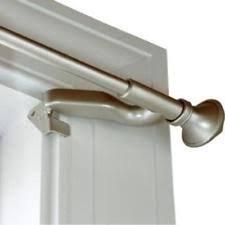 Kirsch Curtain Rod Levolor Kirsch 7004244450 Twist And Fit Curtain Rod 28 To 48 Inch