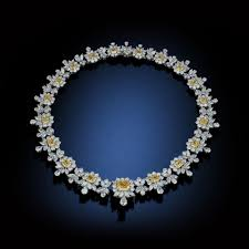 diamond blue necklace images Fancy necklaces rosenberg diamonds co jpg