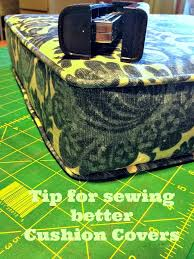 Upholstery Cording Instructions Tip For Sewing A Cushion Cover With Piping Blue Roof Cabin