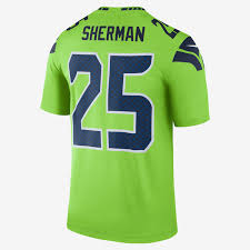 nfl seattle seahawks color rush legend richard sherman men u0027s