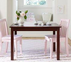 kidkraft farmhouse table and 4 chairs set multiple colors image