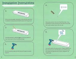 rain gutters installation instructions gutters ideas