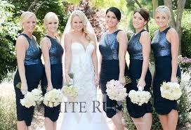 blue sequin bridesmaid dress aliexpress buy new navy blue bridesmaids dresses sequins