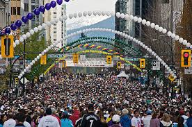 sun run 40 000 runners expected to pack downtown for the 2016 vancouver