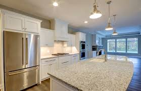 what color countertop goes with white cabinets the midwest top 5 trending granite colors cutting edge