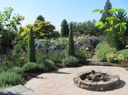 Firepit Garden Bellevue Garden With Pit Phil Wood Garden Design