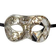 masquarade mask men s vintage design two color masquerade mask