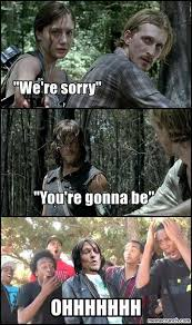 Daryl Dixon Memes - the walking dead funny meme walking dead has stuff and thangs