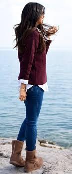 best 25 ugg boots ideas best 25 burgundy sweater ideas on burgundy fashion