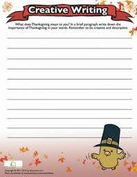 thanksgiving creative writing 1 creative writing worksheets